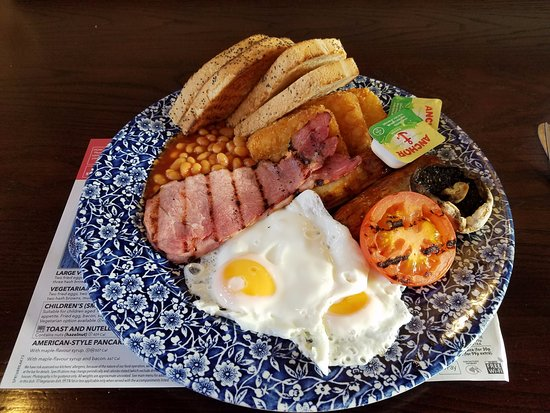 Eccles, UK: Breakfast