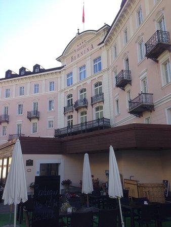 Samedan, Suiza: Hotel Bernina 1865