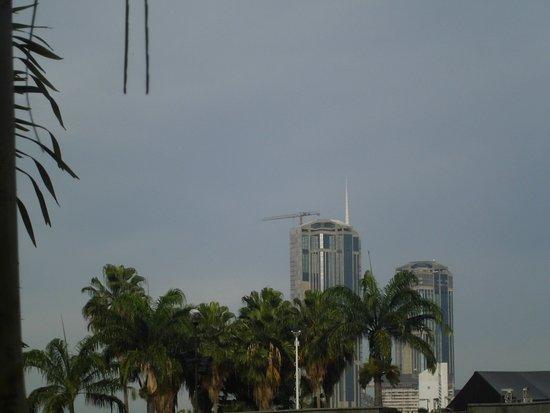 Inne ujecie wiez w Parque Central w Caracas