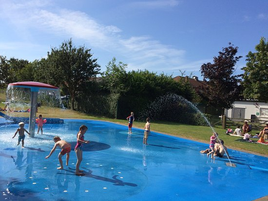 The Children Enjoying Ice Creams Between Swims Picture Of Greenbank Pool Street Tripadvisor