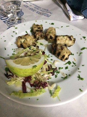 Torregrotta, Италия: Involtini di pesce spada