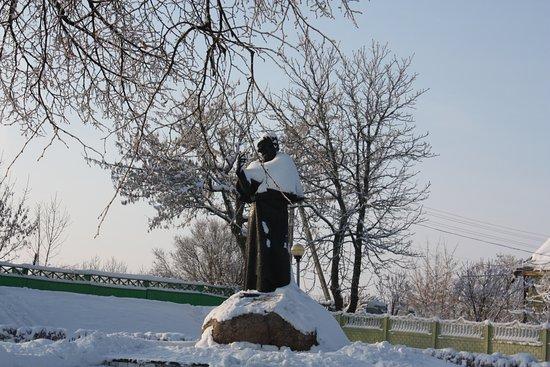 Navahradak, Białoruś: Памятник Мицкевичу