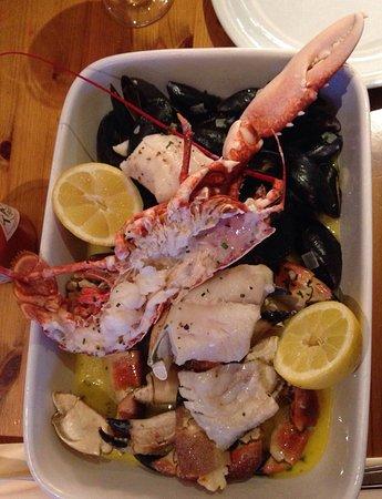 Amazing fresh seafood!