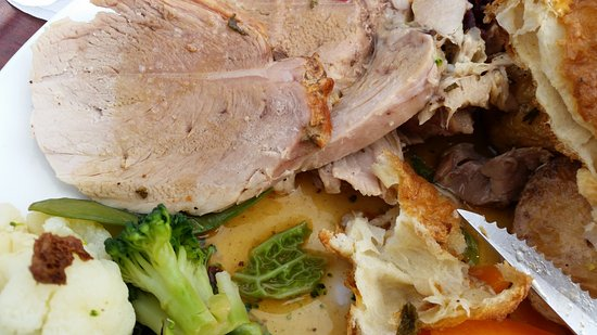 Evanton, UK: Roast posk