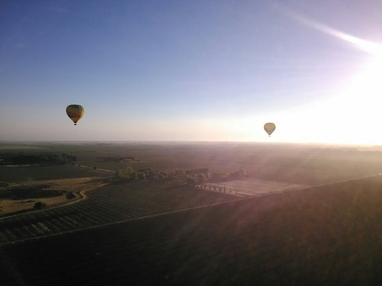 Balloons Above the Valley 사진