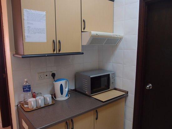 Tioman Horizon Condotel : kitchen area