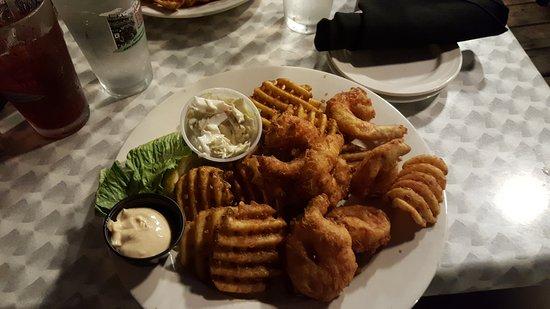 Boathouse Bistro Tapas Lounge & Restaurant: $20 gulf shrimp