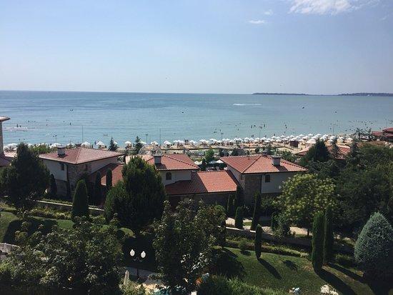 Bora Bora Hotel: View from last floor apartment