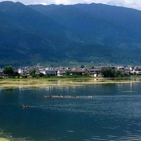 Dali, Kina: 洱海湖