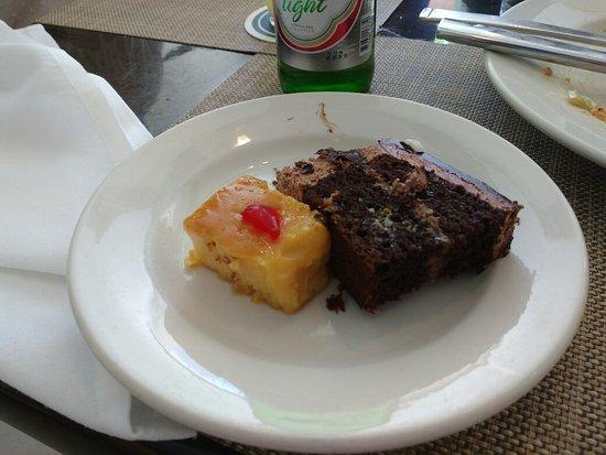 Four Points by Sheraton Puntacana Village: Sobremesa do almoço ótima