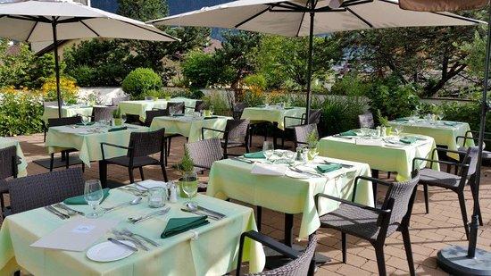 Schruns, Austria: Terrasse