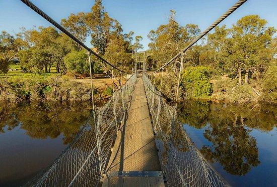 Avon River Suspension Bridge