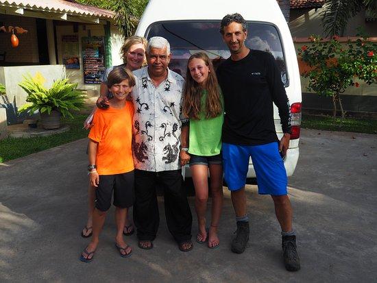 Wattala, Sri Lanka: Eddy and my family