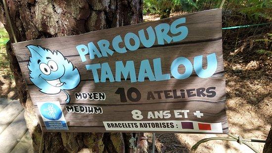 Ussac, France: parcours de mes petits