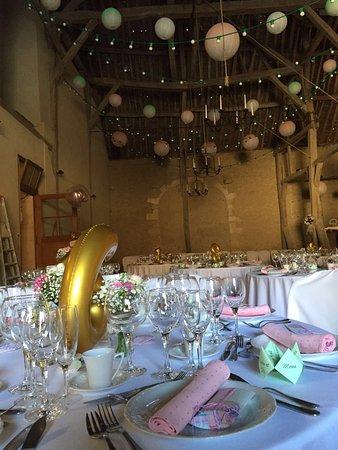 Château de Vaux : Salle pour le mariage
