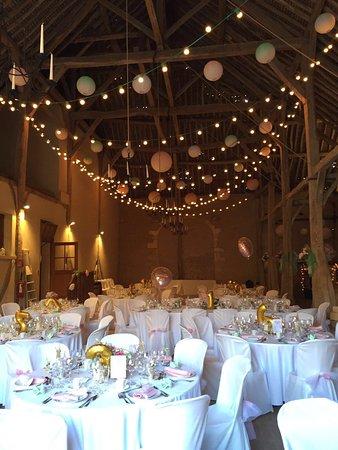 Salle pour le mariage de Ch¢teau de Vaux Foucheres
