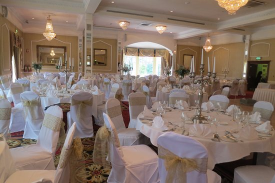 The Ardilaun Hotel: Room set up for Wedding