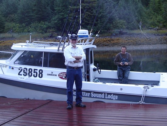 Craig, AK: Owner Tim Comer and the Murtie C