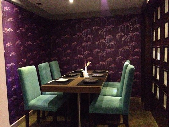 Nice Japanese Resto With Private Table Its Nice To Share Your - Private table restaurant