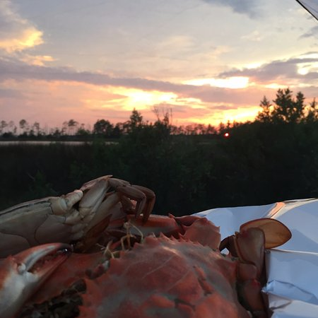 Scotland, MD: Days Catch of Crabs and Sunset Site #97