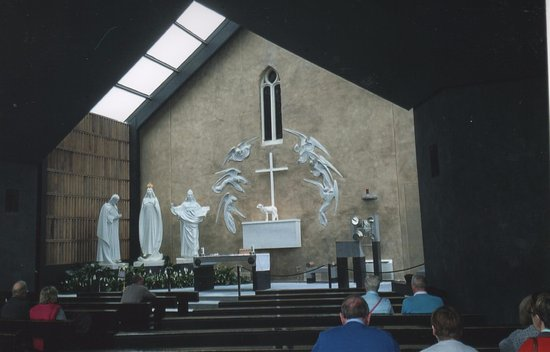 Knock, Irlanda: inside Chapel