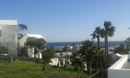 Apartamentos Villa Canaima: Zona giorno e vista mare