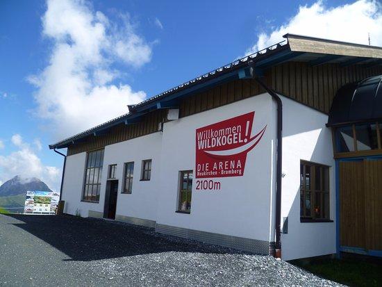 Bramberg am Wildkogel, Austria: Endstation der Seilbahn