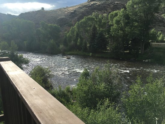 Almont, CO: View from Cabin 22