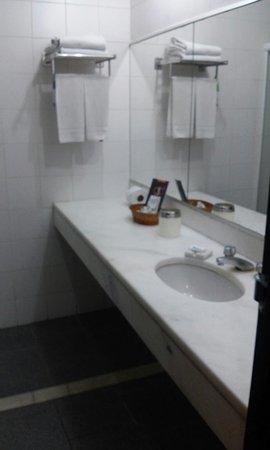 Hotel Sesc Copacabana: Fotos do quarto e do banheiro