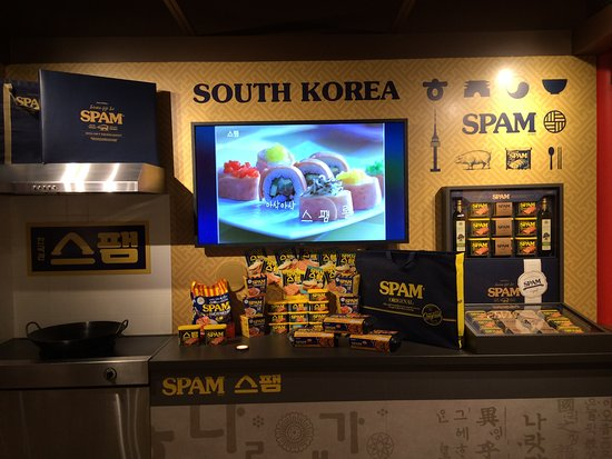 Austin, MN: Spam in South Korea - Spam sushi.