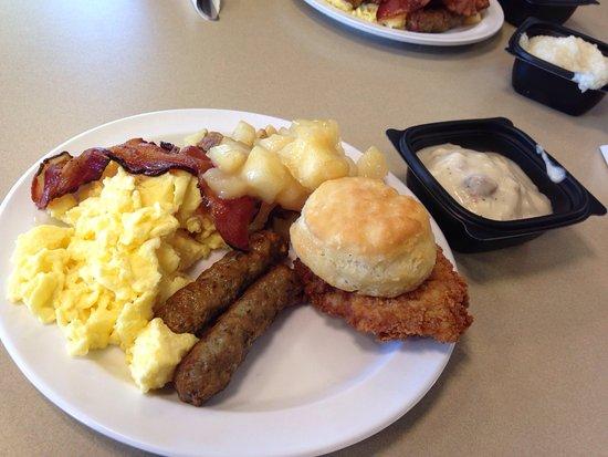 Newnan, GA: Breakfast bar
