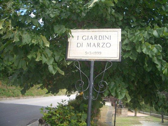 Poggio Bustone, Italie : Il parco