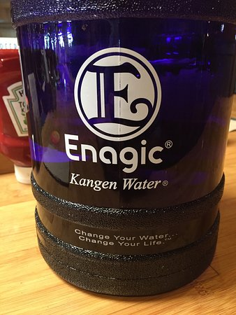 Islands: Thank you for allowing me to drink my alkaline water... Much appreciated   You guys need kangen