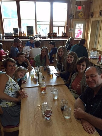 Harbor Springs, MI : Lunch with the family.