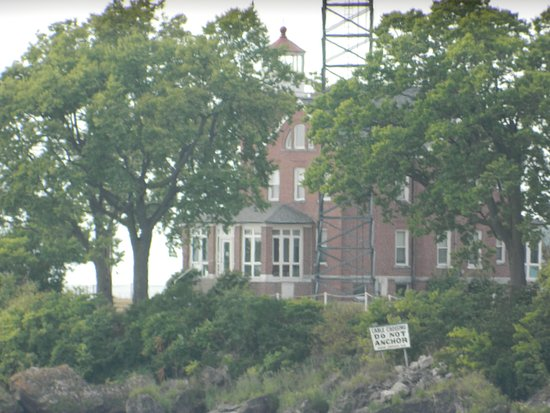 South Bass Island Lighthouse: View from the water
