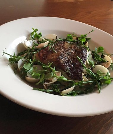 Cotton, UK: Seabass and Clams Special