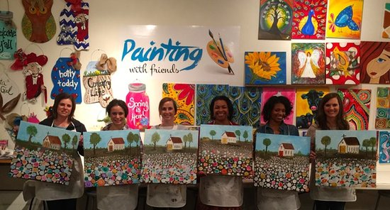 Painting with Friends