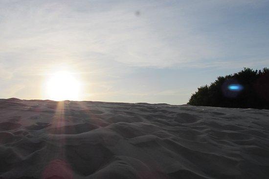 Balneario Pinhal, RS: nas dunas