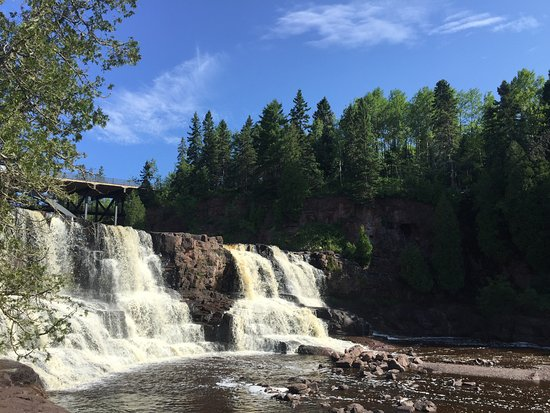 Two Harbors, MN: Gooseberry Falls