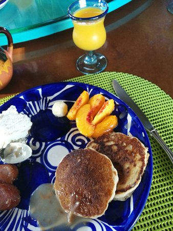 Cinnamon Morning Bed And Breakfast: homemade breakfast