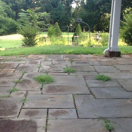 Lambertville, NJ: Front porch 8/16/16
