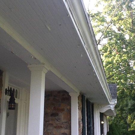 Lambertville, NJ: Peeling paint 8/16/16