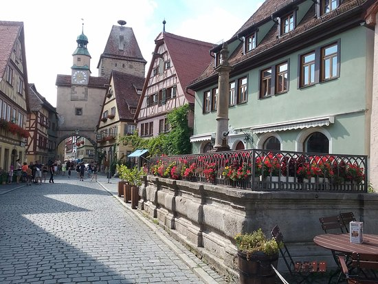 Hotel-Garni Hornburg: Het stadje is zeker nog een bezoek waard,!