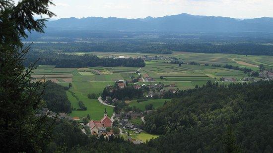 Cerklje, Slovenya: blick auf adergas