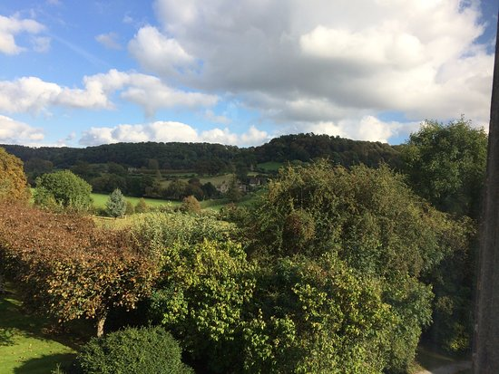 Uley, UK: View from my room