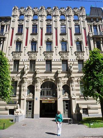 art nouveau building picture of alberta iela riga tripadvisor
