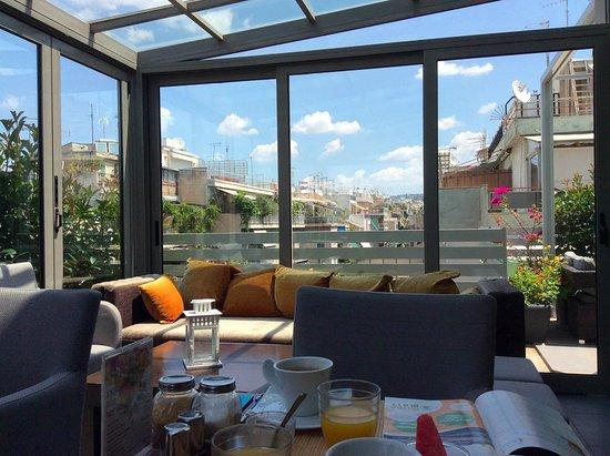 雅典之路酒店照片
