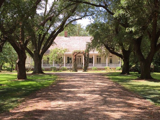 Natchitoches, Luizjana: Beau Fort Plantation Home