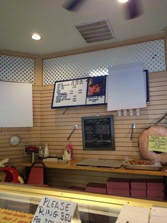 Mariposa, CA: at the counter