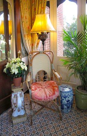 Washington, VA: Sitting Area in Parsonage House